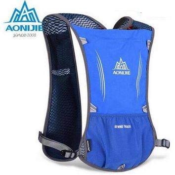 AONIJIE Lightweight Men Women Outdoor Trail Running Marathon Riding Hydration Backpack Sport Bag With 1.5 L Water Bag