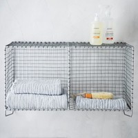 Wire Mesh Storage - Hanging Double Shelf