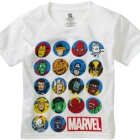 Marvel Boys 2-7 Crew License T-Shirt