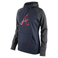 Nike Therma-FIT All-Time Pullover (MLB Braves) Women's Training Hoodie