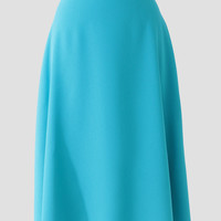 Harbor Mist Midi Skirt