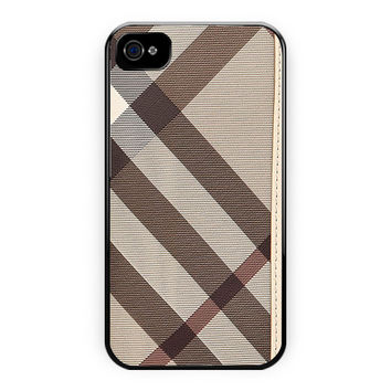 Burberry Smoked Check Continental iPhone 4/4S Case