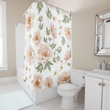 floral 30 shower curtain