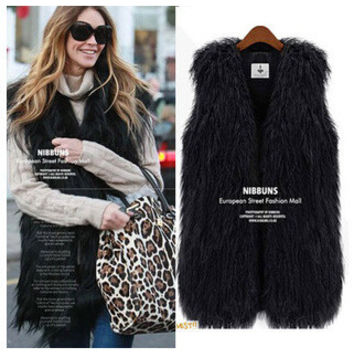 Fur Wool Jacket [9328121476]
