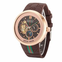Trendy GUCCI Ladies Men Watch Stylish Watch