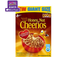 Walmart: Honey Nut Cheerios Cereal, 26.6 oz