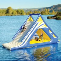 The Gigantic Water Play Slide.
