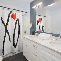 XO Classic Shower Curtains
