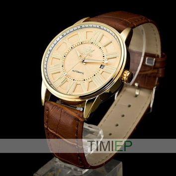 Men's Classic Roman Numeral Watch