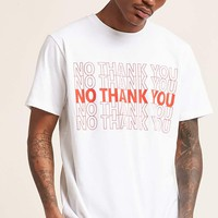 No Thank You Graphic Tee
