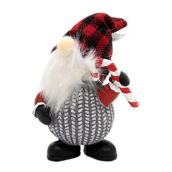 Christmas GNOME SANTA Polyresin Ugly Sweater Ex25644 Candy