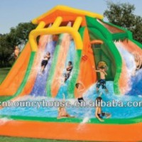 33feet Splash Inflatable Water Slide,Inflatable Wet Slide - Buy Inflatable Water Slide,Giant Inflatable Water Slide,Water Slide Product on Alibaba.com