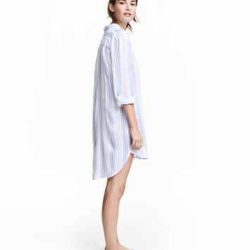 Viscose Nightshirt - from H&M