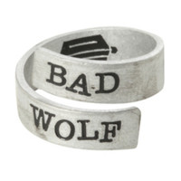 Doctor Who Bad Wolf Wrap Ring