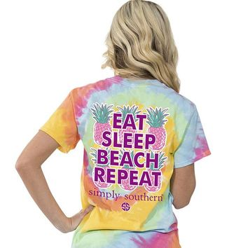 "Simply Southern ""Preppy Repeat"" Short Sleeve Tee"