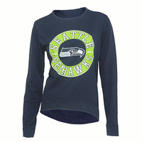 Seattle Seahawks Home Field Long Sleeve Crew Neck