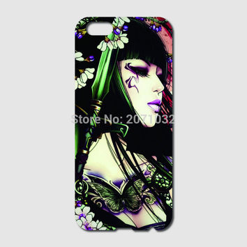 Asian babes Girls tattoo women Case For iPhone 6 6S Plus 5 5S 5C 4S iPod Touch 5 For Samsung Galaxy S2 S3 S4 S5 Mini S6 S7 Edge