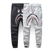 BAPE SHARK SLIM SWEAT PANTS