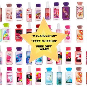 NEW Bath & Body Works Travel-SIze 3 Pieces Set With Free Gift Wrap - YOU PICK!!!
