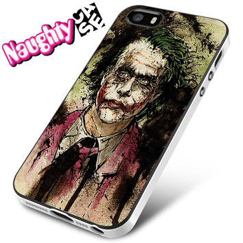The Dark Knight Joker Art Movies iPhone 4s iphone 5 iphone 5s iphone 6 case, Samsung s3 samsung s4 samsung s5 note 3 note 4 case, iPod 4 5 Case