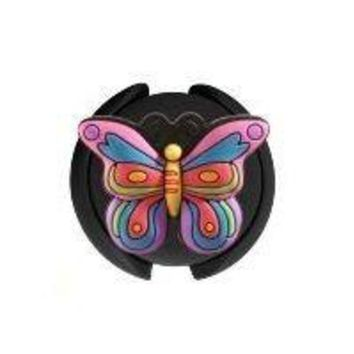 Stethoscope ID Tag 3D Soft Rubber Butterfly Design SmartCharms