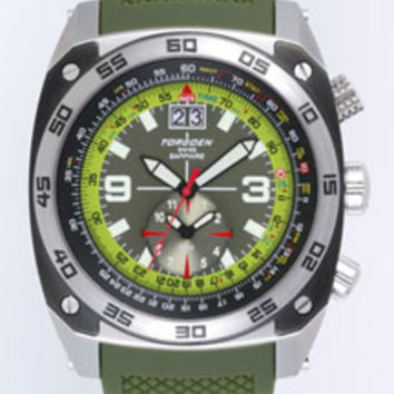 Torgoen T7 Flight Computer Pilot Watch T07303
