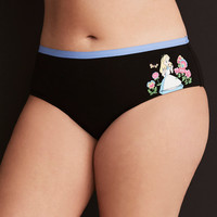 Disney Alice in Wonderland Hipster Panty