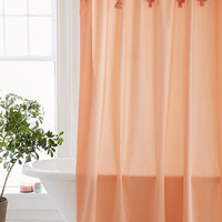 Topanga Fringe Shower Curtain | Urban Outfitters
