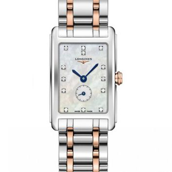 Longines DolceVita Diamond Bracelet Watch, 20.5mm x 32mm | Nordstrom