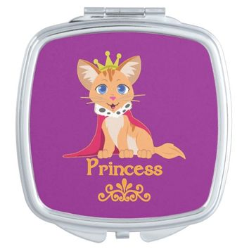 Princess Kitten Makeup Mirror