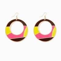 Ally Circle Earrings | Fashion Jewelry - Mod Squad 2 | charming charlie