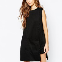 House of Sunny Tunic Dress with Pocket Detail