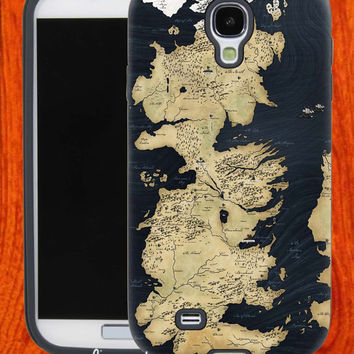 Game of Thrones World map,Accessories,Case,Cell Phone,iPhone 4/4S,iPhone 5/5S/5C,Samsung Galaxy S3,Samsung Galaxy S4,Rubber,28-11-2-Vr