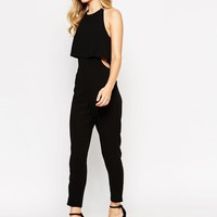ASOS Jumpsuit With Double Layer Halter