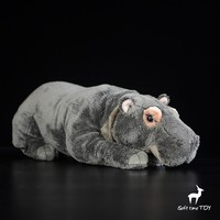 Large Hippo Stuffed Animal Plush Toy 15""