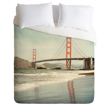 Bree Madden Bakers Beach Duvet Cover