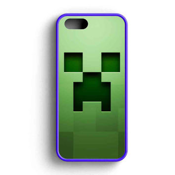 Minecraft Creeper iPhone 5 Case iPhone 5s Case iPhone 5c Case