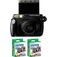Fujifilm instax 210 Instant Film Camera with Two instax Wide B&H