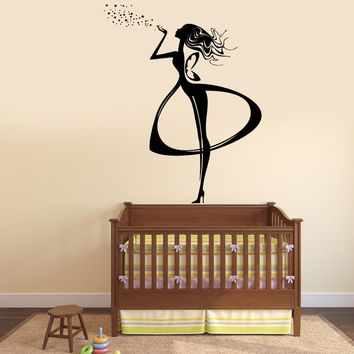 Wall Vinyl Decal Fairy Tale Kids Children Nursery Magic Decor Unique Gift z3788