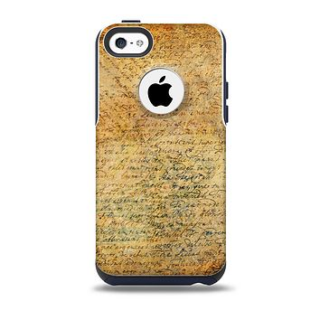 The History Word Overlay V2 Skin for the iPhone 5c OtterBox Commuter Case