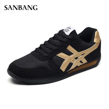 Tenis Masculino spring Men Sport Shoes Men Tennis Shoes Male Platform Stability Athletic Sneakers Fitness Trainers shoes men F4