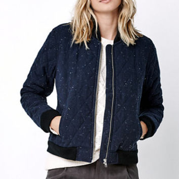 Obey Rumson Quilted Bomber Jacket at PacSun.com