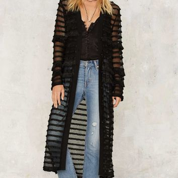 Clean Sweep Maxi Cardigan