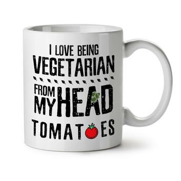 Vegan Joke Tea Coffee Mug 11 Oz