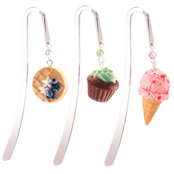 Scented Pick Your Charm Bookmark