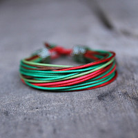 Multicolor African bracelet, colorful bracelet for her, Ethnic jewelry, Gift for girlfriend, designer bracelet for her, summer bracelet
