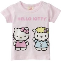 Hello Kitty Organics Baby Girls' Fifi Short Sleeve Snap Tee