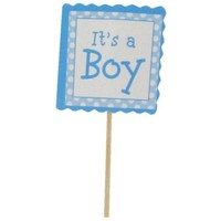 It's a Boy Cupcake Toppers | Shop Hobby Lobby