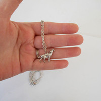 Game of thrones Stark Family wolf necklace pendant wolf jewelry wolf necklace
