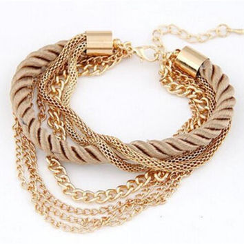 Handmade Bracelets For Women Charm Bangle Multilayer Beautiful!